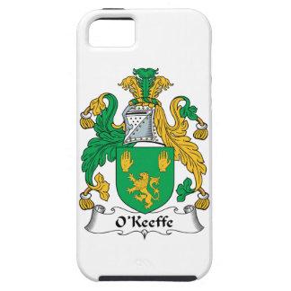 Escudo de la familia de O'Keefe iPhone 5 Case-Mate Cobertura