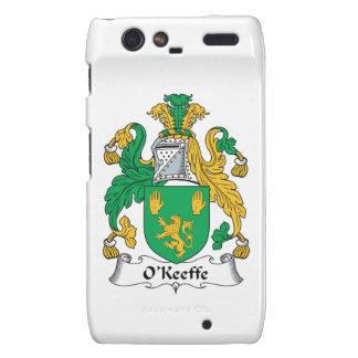 Escudo de la familia de O'Keefe Droid RAZR Fundas