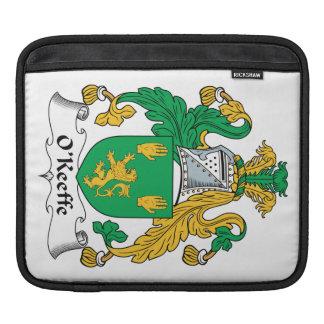 Escudo de la familia de O'Keefe Mangas De iPad