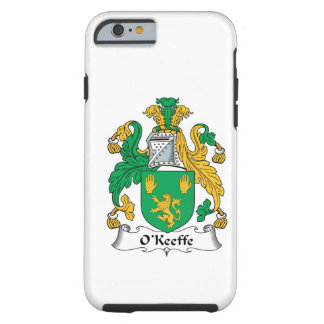 Escudo de la familia de O'Keefe Funda De iPhone 6 Tough