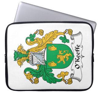 Escudo de la familia de O'Keefe Mangas Computadora