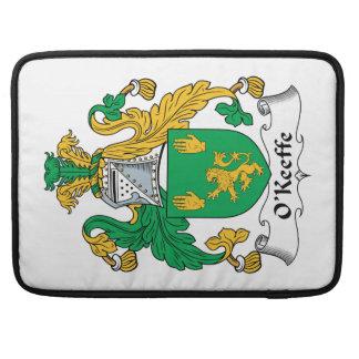 Escudo de la familia de O'Keefe Funda Para Macbooks