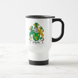 Escudo de la familia de O'Keefe Taza De Café