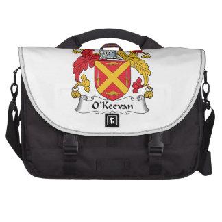 Escudo de la familia de O'Keevan Bolsa De Ordenador