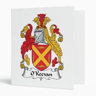 "Escudo de la familia de O'Keevan Carpeta 1"""