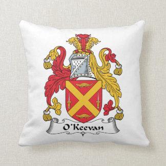 Escudo de la familia de O'Keevan Cojín