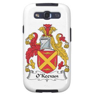 Escudo de la familia de O'Keevan Samsung Galaxy SIII Funda