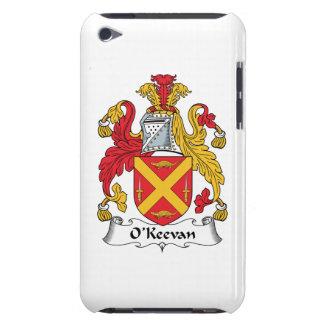 Escudo de la familia de O'Keevan iPod Touch Cárcasas