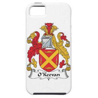 Escudo de la familia de O'Keevan iPhone 5 Funda