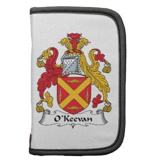 Escudo de la familia de O'Keevan Organizadores