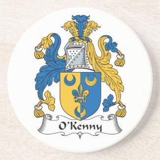 Escudo de la familia de O'Kenny Posavasos Manualidades