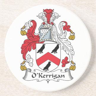 Escudo de la familia de O'Kerrigan Posavasos Para Bebidas