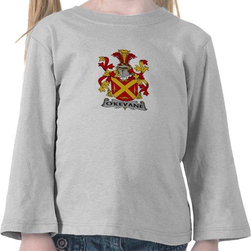 Escudo de la familia de O'Kevane Camiseta