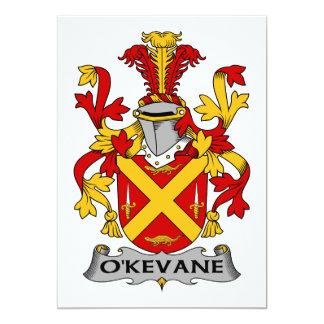Escudo de la familia de O'Kevane Comunicado Personalizado