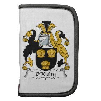Escudo de la familia de O'Kielty Organizadores