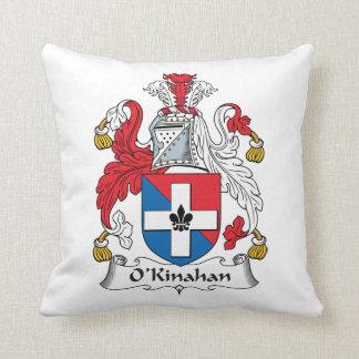 Escudo de la familia de O'Kinahan Almohada