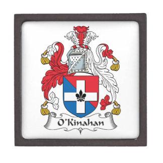 Escudo de la familia de O'Kinahan Caja De Joyas De Calidad