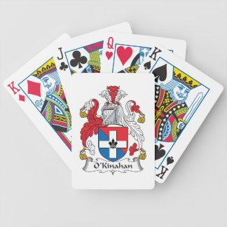 Escudo de la familia de O'Kinahan Cartas De Juego