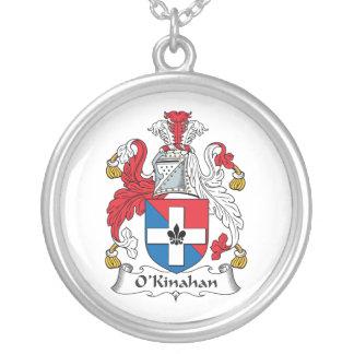 Escudo de la familia de O'Kinahan Colgante Redondo