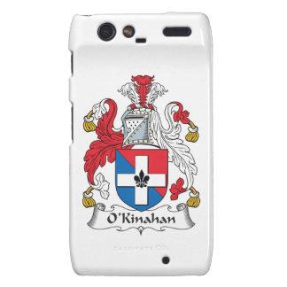 Escudo de la familia de O'Kinahan Motorola Droid RAZR Fundas