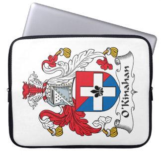Escudo de la familia de O'Kinahan Fundas Computadoras