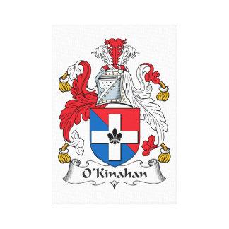 Escudo de la familia de O'Kinahan Impresion En Lona