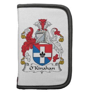 Escudo de la familia de O'Kinahan Planificador