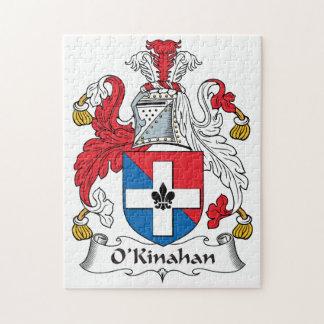 Escudo de la familia de O'Kinahan Rompecabezas Con Fotos