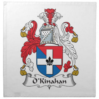 Escudo de la familia de O'Kinahan Servilleta De Papel