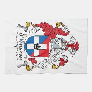 Escudo de la familia de O'Kinahan Toallas