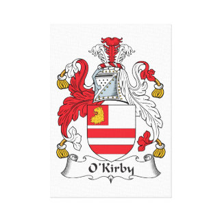 Escudo de la familia de O'Kirby Lona Estirada Galerias