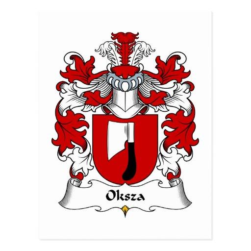 Escudo de la familia de Oksza Postal