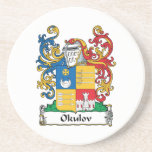 Escudo de la familia de Okulov Posavasos Cerveza