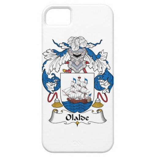 Escudo de la familia de Olalde iPhone 5 Case-Mate Protector