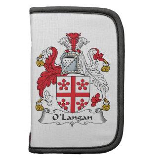 Escudo de la familia de O'Langan Organizadores
