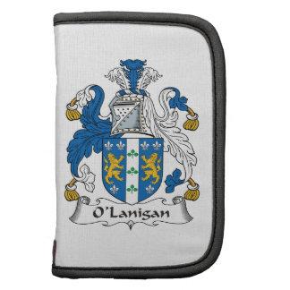 Escudo de la familia de O'Lanigan Organizadores