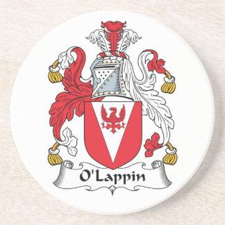 Escudo de la familia de O'Lappin Posavaso Para Bebida