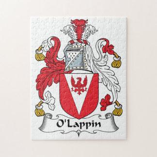 Escudo de la familia de O'Lappin Rompecabeza