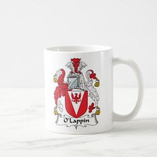 Escudo de la familia de O'Lappin Taza De Café