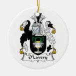 Escudo de la familia de O'Lavery Adorno