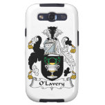 Escudo de la familia de O'Lavery Galaxy SIII Protectores