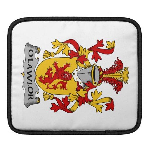 Escudo de la familia de O'Lawlor Funda Para iPads