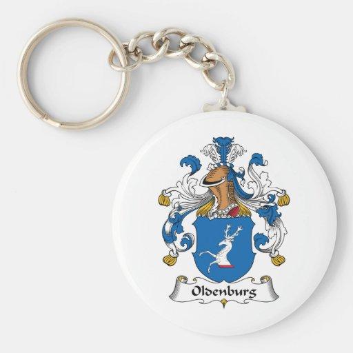 Escudo de la familia de Oldenburg Llavero Redondo Tipo Pin