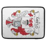 Escudo de la familia de O'Leary Funda Macbook Pro