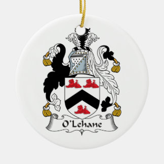 Escudo de la familia de O'Lehane Adorno Para Reyes