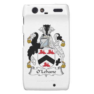 Escudo de la familia de O'Lehane Droid RAZR Fundas