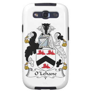 Escudo de la familia de O'Lehane Galaxy SIII Cárcasas