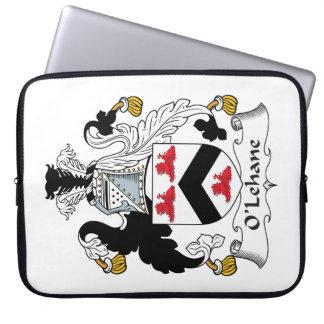 Escudo de la familia de O'Lehane Funda Computadora