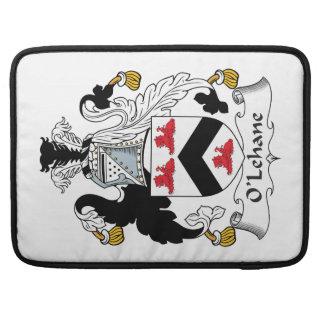 Escudo de la familia de O'Lehane Fundas Macbook Pro