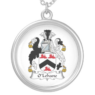 Escudo de la familia de O'Lehane Pendientes
